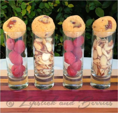 "Vegan ""Cookie Dough"" Protein Globes! SOS-FREE.  www.LipstickandBerries.com"