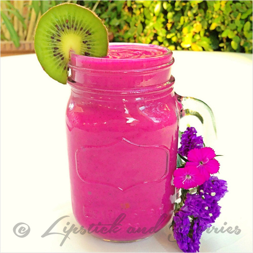 Pink Pineapple Pitaya Perfection! www.LipstickandBerries.com