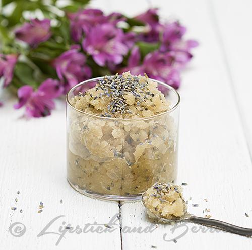Home made Lavender Vanilla Sugar Scrubs!