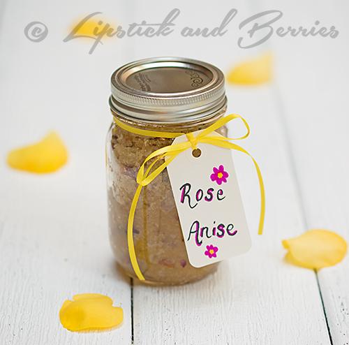 Rose Anise Sugar Scrub