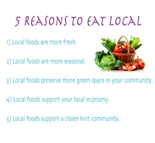 Reasons to Eat Local! { organic * vegan * healthy * recipes * lipstick and berries }