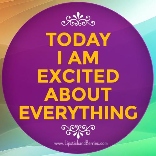 Be Happy { www.LipstickandBerries.com } Positive Motivation!