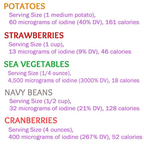 Iodine Rich Foods! #plantbased #vegan #lipstickandberries