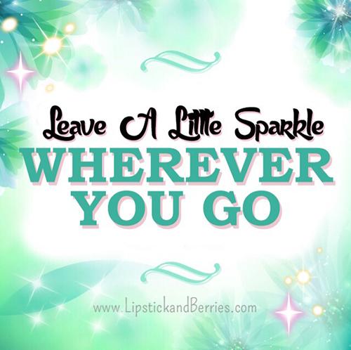 leavealittlesparkle