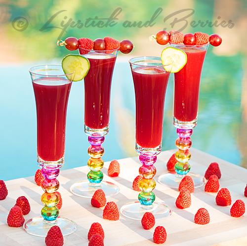 Raspberry Ruby Juice!  #juice #detox #cleanse