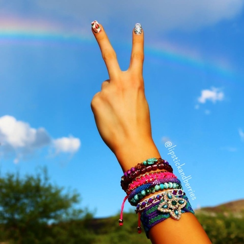 peacesignrainbow