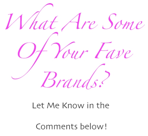 whatareyourfavebrands